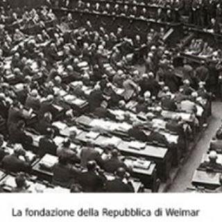 La Germania dopo la prima guerra mondiale. La Repubblica di Weimar