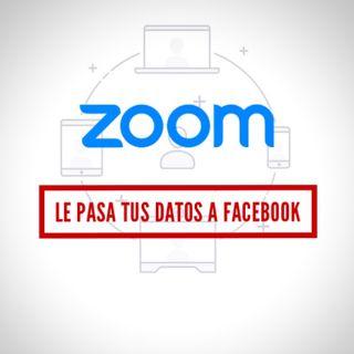 Zoom le pasa tus datos a Facebook