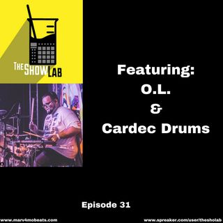 The Showlab Producer Podcast Ep. 31 With Cardec Drums
