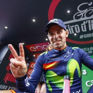 Reflexiones  Valverde al término del Giro de Italia 2016