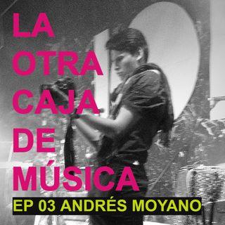 T2 E03 - ANDRÉS MOYANO Y LA HISTORIA DE SU FOTO CON DRON EN ROCK AL PARQUE