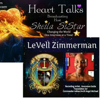 Heart Talks Guest Le'Vell  Zimmerman