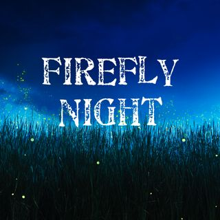 Firefly Night with rainfall sounds