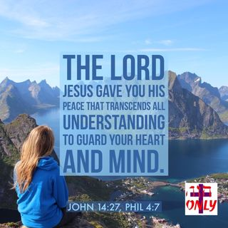 The LORD Gave You His Peace that Transends All Understaing to Walk in Hs  Gift of Wholeness.