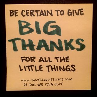 Thank Big : BYS 316