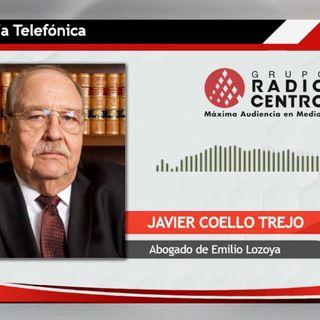 Pediré que se cite a declarar a EPN y a Videgaray: Javier Coello