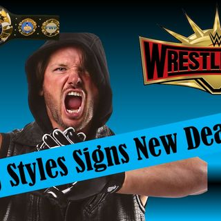 AJ Styles Signs New WWE Deal!