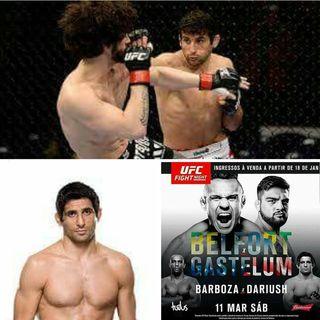 UFC Fight Night 106 Beneil Dariush Interview
