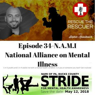 Episode 34- National Alliance on Mental Illness-N.A.M.I