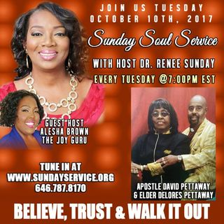 Host Alesha Brown Topic Connected-without Committed Apostle David Pettaway Elder Delores Petttaway