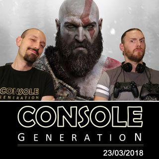 Anteprima God of War, la prova di Sea of Thieves e altro! - CG Live 23/03/2018