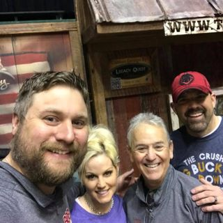 The 4 Outdoorsmen Lee and Tiffany Lakosky and Tom Batiuk