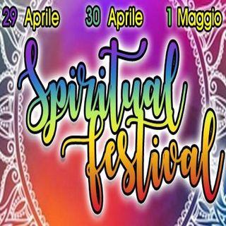 SPIRITUAL FESTIVAL 29-30 Aprile e 1 Maggio con CLAUDIA DE MATTEIS
