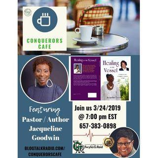 Conquerors Cafe Author Spotlight Featuring Author Jacqueline Goodwin