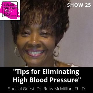Eliminating High Blood Pressure with Dr. Ruby McMillian, Th. D.