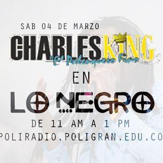 Charles King en LO NEGRO