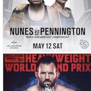 #UFC224 and #Bellator199 Fight Picks