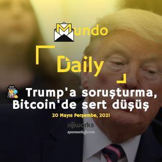 🕵️ Trump'a soruşturma, Bitcoin'de sert düşüş