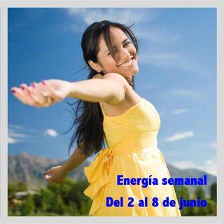 Energía de la semana 23 Año 2019: Del 02/06 hasta el 08/06/2019