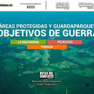 Áreas protegidas y Guardaparques: Objetivos de guerra