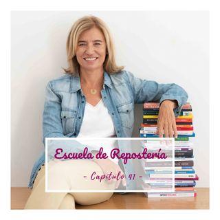 41. ENTREVISTA: Tu propio libro de recetas, un sueño hecho realidad con Ana Nieto.