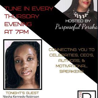 S3 Episode 35 - Purpose PR Agency Radio Speaks Publicist Niesha Kennedy-Robinson