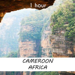 Debundscha, Cameroon | 1 hour RAIN Sound Podcast | White Noise | ASMR sounds for deep Sleep | Relax | Meditation | Colicky