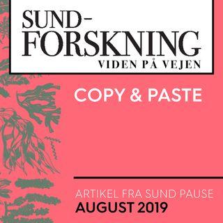 Sund Pause: Copy & paste