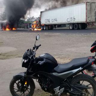 Últimos actos violentos en Veracruz, propaganda de grupos delictivos
