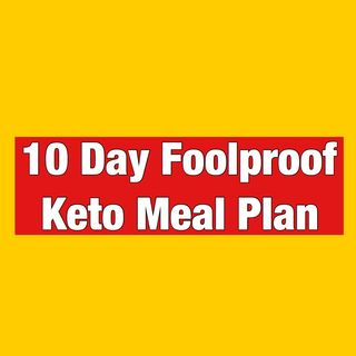 Episode 141 - 10 Day Keto Meal Plan