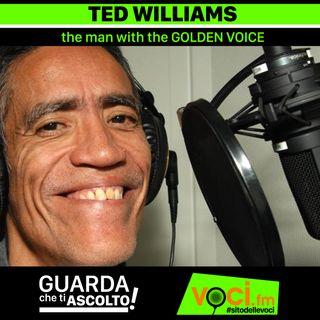 Clicca PLAY per GUARDA CHE TI ASCOLTO - TED WILLIAMS (The man with the GOLDEN VOICE)