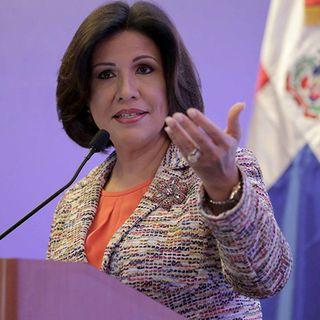 Margarita Cedeño anunció que apoyará a su esposo Leonel Fernández