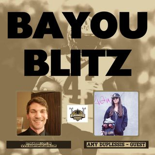 Bayou Blitz:  Saints Talk with Bob Rose & Amy Duplessis