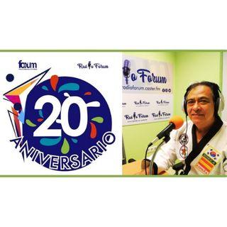 20 ANIVERSARIO FORUM: Hernando Reyes, Maestro nacional e internacional de HAPKIDO