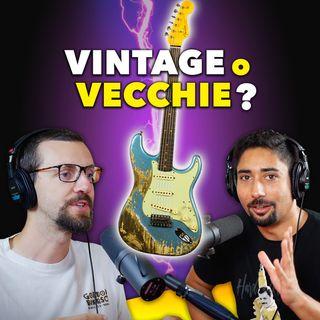 La differenza tra chitarre VINTAGE e VECCHIE - con il liutaio Carlo Carbone