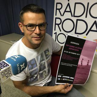 """Entrevista a Jordi Guerrero per presentar la xerrada """"Tot sobre la dona esportista"""""""