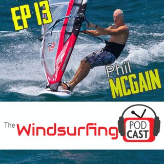 #13 - Phil McGain on The Team, Kevin Pritchard, establishing the PWA finishing an Ironman at 50 and more