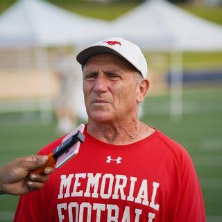 Memorial Mustangs Head Football Coach Gary Koch