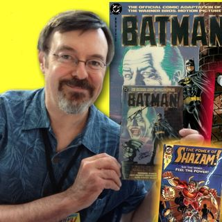 #281: Comic book creator Jerry Ordway celebrates 30th anniversary of Batman movie comic adaptation!