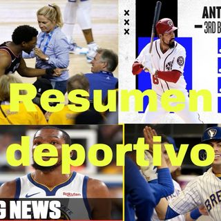 Episodio 10 - MR. ANSWER PR DEPORTES, Anthony Joshua, Palabras de Curry, Rendon Caliente y Chris Yelich camino a 69 HR
