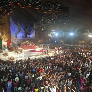 Sigue arribo de peregrinos a la Basílica de Guadalupe