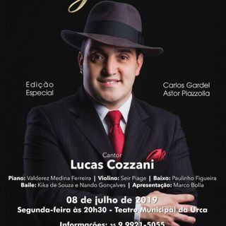 Entrevista a  lucas Cozzani Cantante de tango Residente en Brasil
