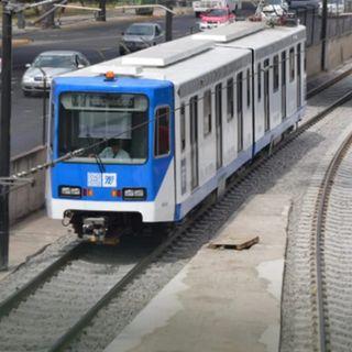 Amanece Tren Ligero sin piezas de cableado.