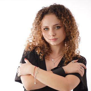 Chiara Carmosini a Radio Mia Bari