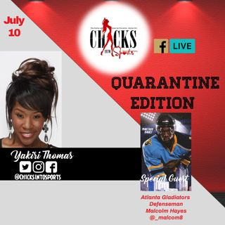 E17 Guest Atlanta Gladiators Malcom Hayes