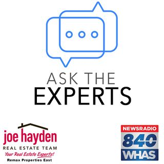 Ask The Experts - Joe Hayden Realtor 10-18-18