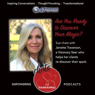 Susan Chats with visionary seer and activator, Jenette Traverson