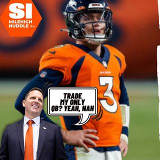 DVDD #092: Ex-NFL GM Claims Broncos Almost Traded Drew Lock