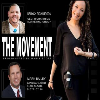 THE MOVEMENT, Broadcasted by MARIA SCOTT - sG:  DERYCK RICHARDSON and MARK BAILEY