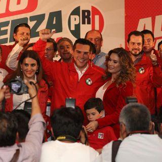 Alejandro Moreno se declara ganador de elecciones internas del PRI